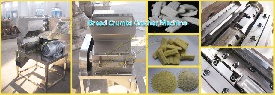Automatic China New Panko Fried Chicken Bread Crumbs Crusher