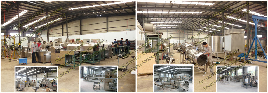 corn snacks food machinery