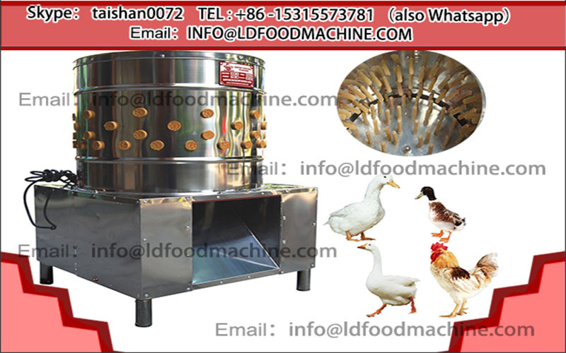CE-approved chicken plucker machinery/chicken hair removal machinery/automatic poultry plucker