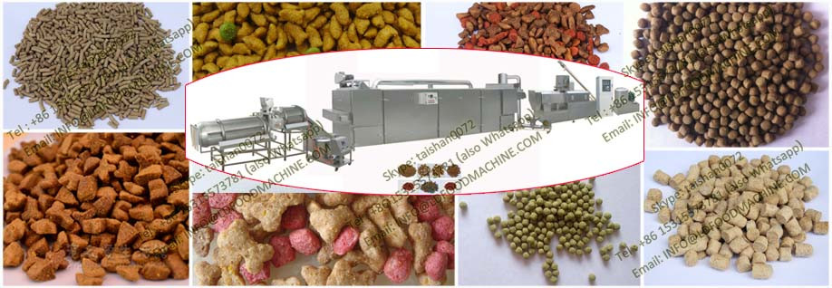Best selling automatic animal food pellet making machine