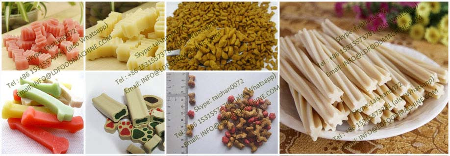 Special-purpose pet food extruder machinery