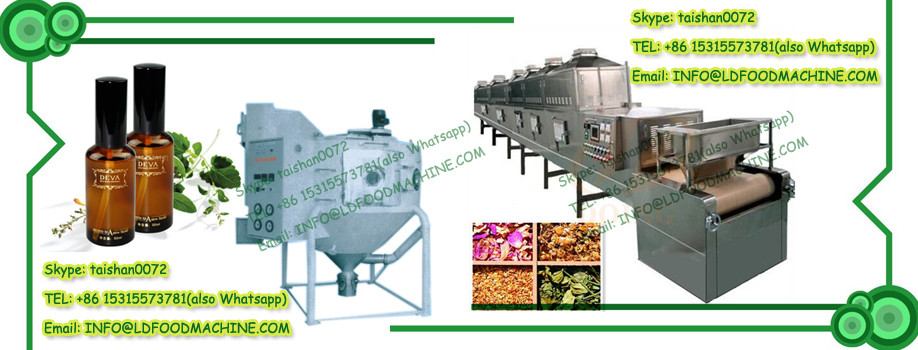 New microwave nuts drying machine