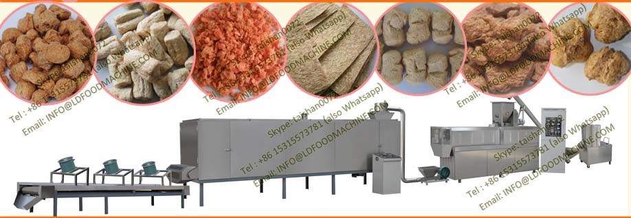 textured vegeterian soya nuggets protein processing equipment