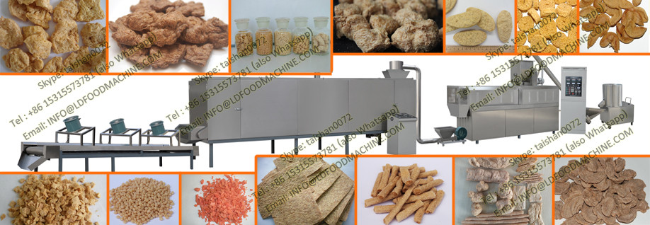 Stainless Steel Soybean protein meat analogs make machinery