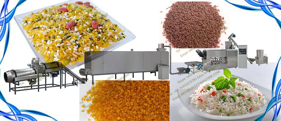 Hot selling small artificial rice extruder machinery