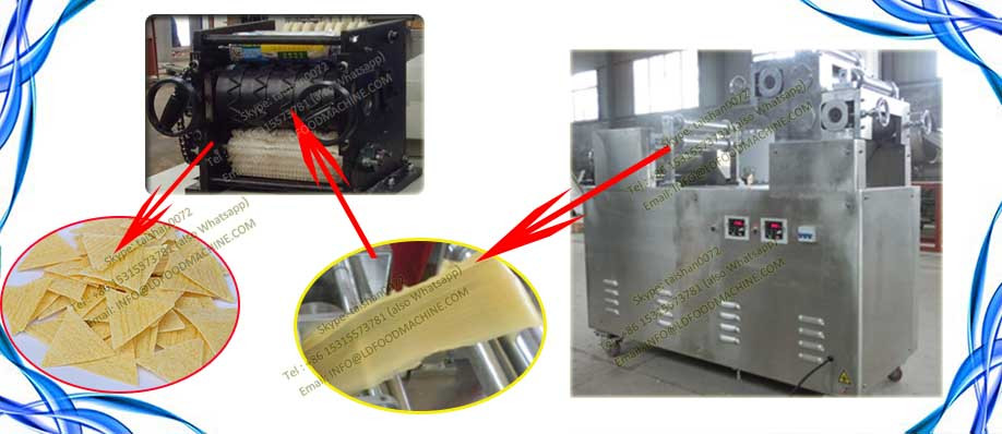 Fried corn chips machinery
