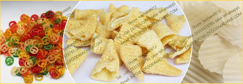 2D Food Pellet machinery Low Investment/Puffed Snacks Processing Line