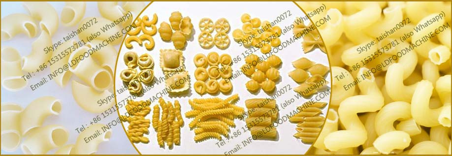 New Condition and wholesale macaroni production line Application short pasta and macaroni machinery
