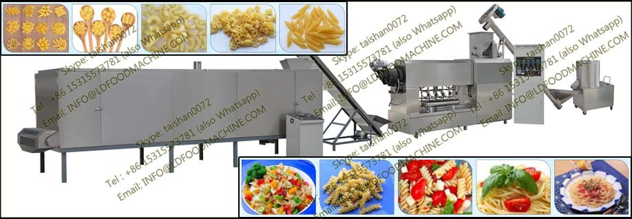 LD extrusion macaroni production machinery