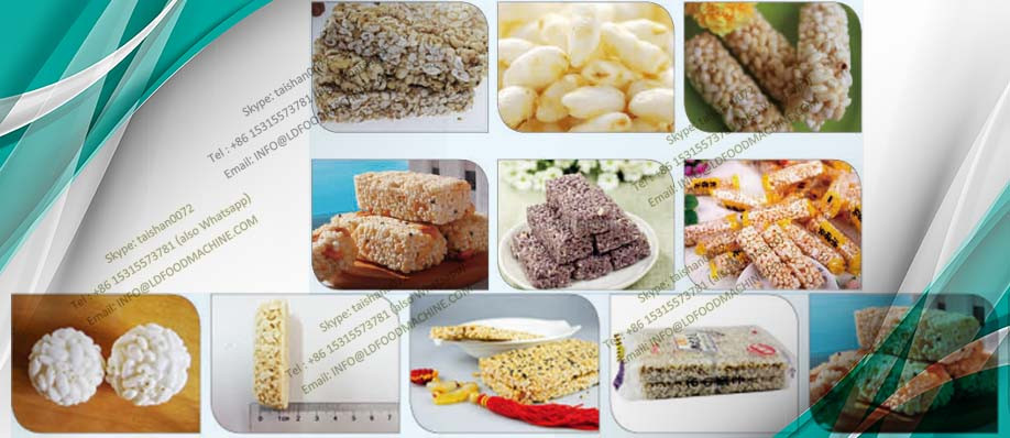 China Nutritional  Cereal Granola Bar make machinery