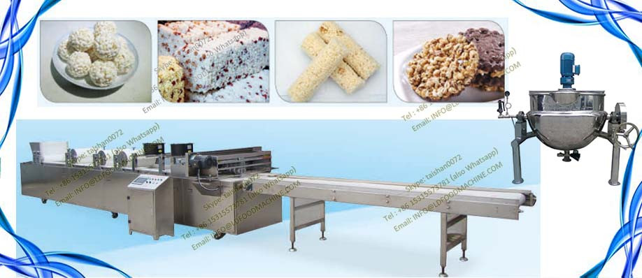 Healthy snack chocolate nut cereal Enerable bar processing line