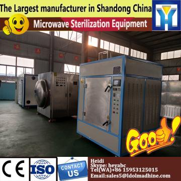 Microwave paprika drying sterilizer machine