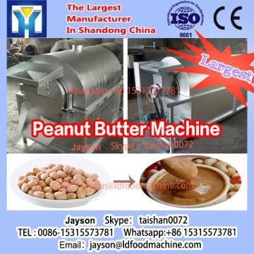 100kg/h peanut butter processing line/peanut peeling+peanut roaster+peanut butter machinery