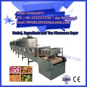 microwave conveyor dryer for medicinal plants