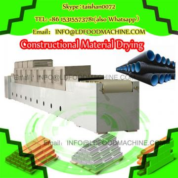 Spinach chopped leaves 100-1000kg/h microwave dryer/sterilizer