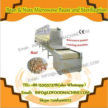 60KW microwave almond roast equipment with puffing effect 200kg per h