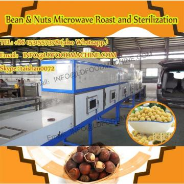 industrial Stainless steel macadamia nuts microwave drying roasting machine/oven