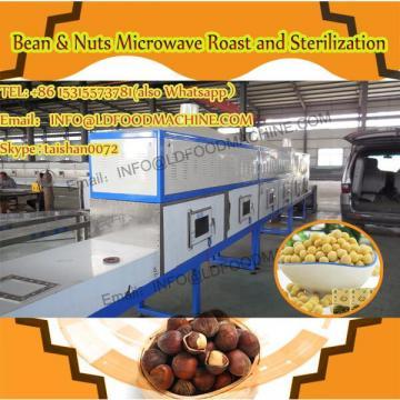 Small industrial conveyor belt type green tea microwave dryer sterilizer machine