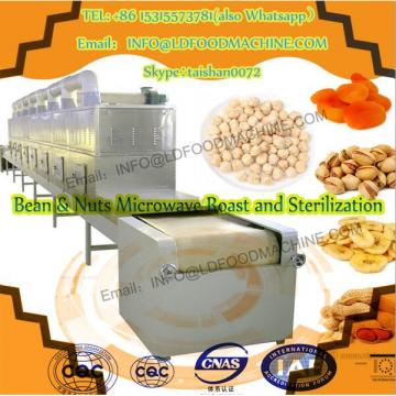 Microwave almond dryer