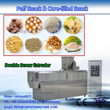 Fully automatic jam core filled pillow flat puff snack machinery