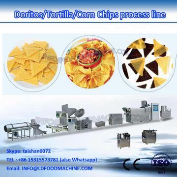 crisp corn chips make extruder  processing line
