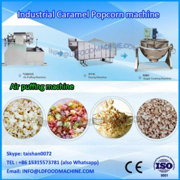 Auto Cheap Gourmet Caramel Popcorn Grain Popping machinery