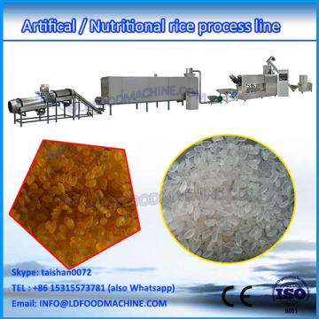 Double screw extruded re-producing cooked rice make equipment
