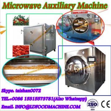 Food grade stainless steel 150kg/hr Industrial microwave snacks machine
