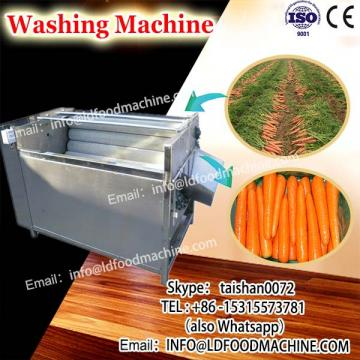 High effieciency Water saving air bubble vegetable&fruit washing machinery