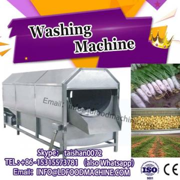 commercial fruit and vegetable bubble washing machinery
