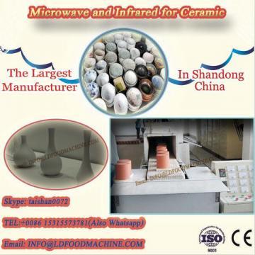 microwave drying kiln for ceramic fibers