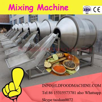 horizontal mixer feed