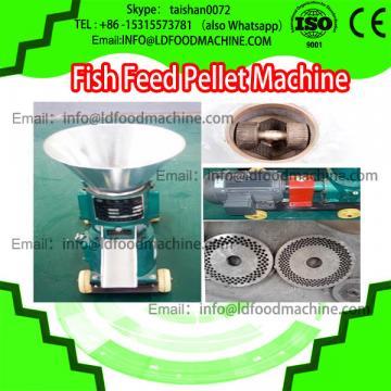 Hot sale flat die animal feed pellet machinery/ 3mm/ floating fish feed pellet machinery