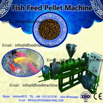 small scale fish feed make machinery