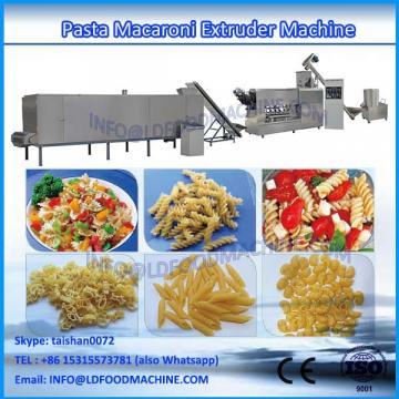 Commerical macaroni pasta production