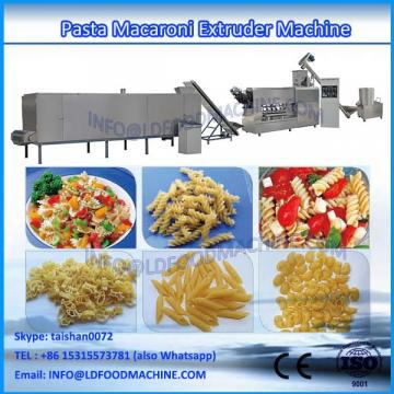 new desity hot selling extruded pasta macaroni make machinery