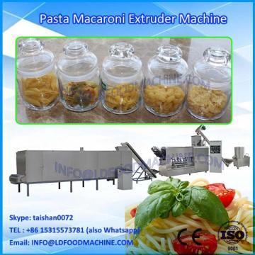 Full Automatic Pasta Macaroni Processing Line/single Screw Snack Extruder