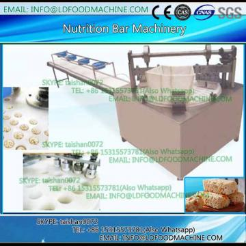 Bar shape cereal candy forming and cutting machinery