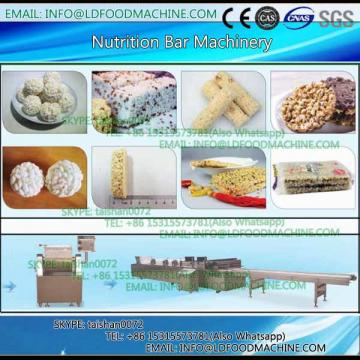 High output snack machinery to make peanut candy / cereal bar processing line