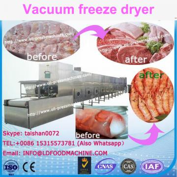 Stainless steel LD freeze dryer/lyophilizer fresh meat/tomato/apple LD freezer dryer