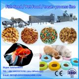 High tech double screw floating fish feed extruder machine