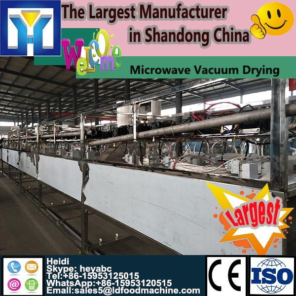 Microwave Bean curd drying sterilizer machine #1 image
