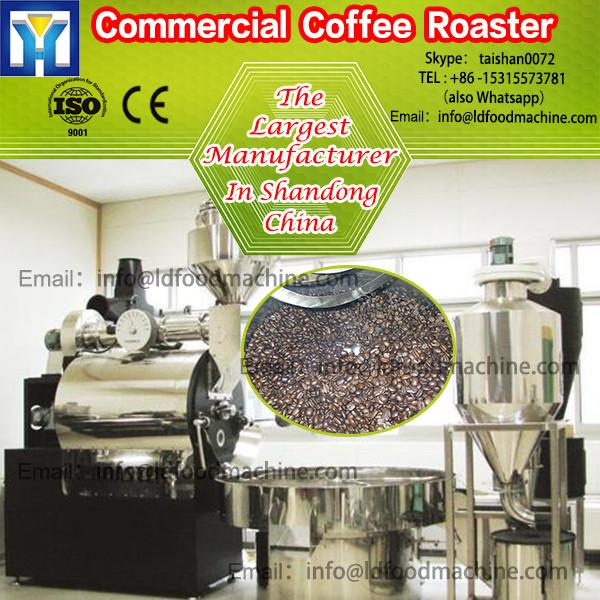 stainless steel automatic drum coffee roasting machinery with cyclone #1 image