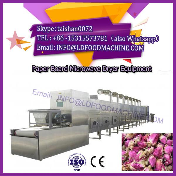 Industrial continuous flower tea microwave drying/microwave cardboard dryer #1 image