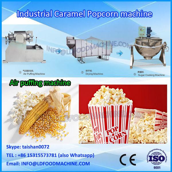 Auto Cheap Gourmet Caramel Popcorn Grain Popping machinery #1 image