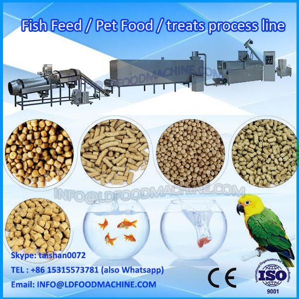 Twin- screw extruder dog food making machine, pet peed machine #1 image