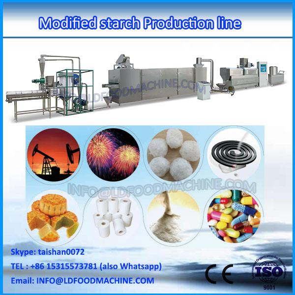 Stainless steel automatic Modified starch production extruder #1 image