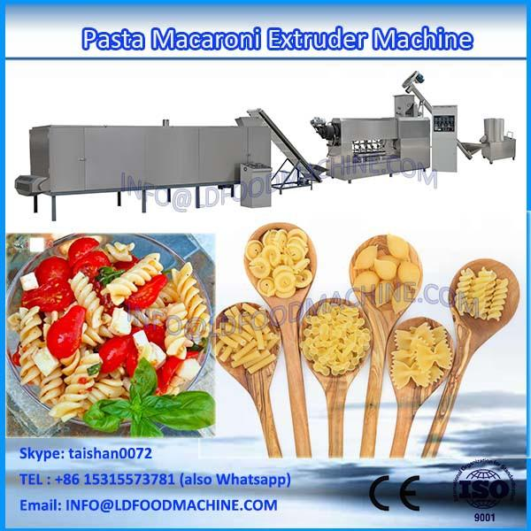 High quality Cheap Custom 150-200kg/hr LDaghetti make Equipment Macaroni Pasta make machinerys #1 image