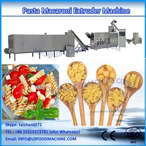 Small LLDe macaroni pasta make machinery #1 image