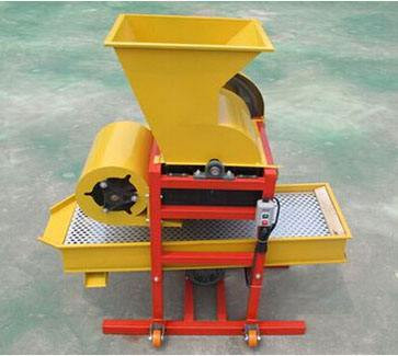 Mechanical shell removal efficiency of peanut is high